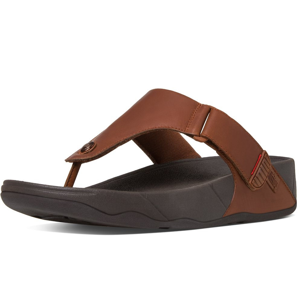 Image of FitFlop Australia DARK TAN MEN'S TRAKK™ DARK TAN