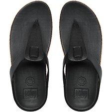 Image of FitFlop Australia BLACK IBIZA™ CORK BLACK