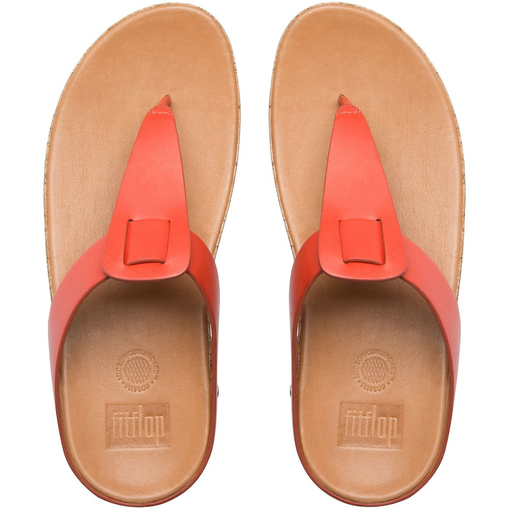 Image of FitFlop Australia FLAME IBIZA™ CORK FLAME