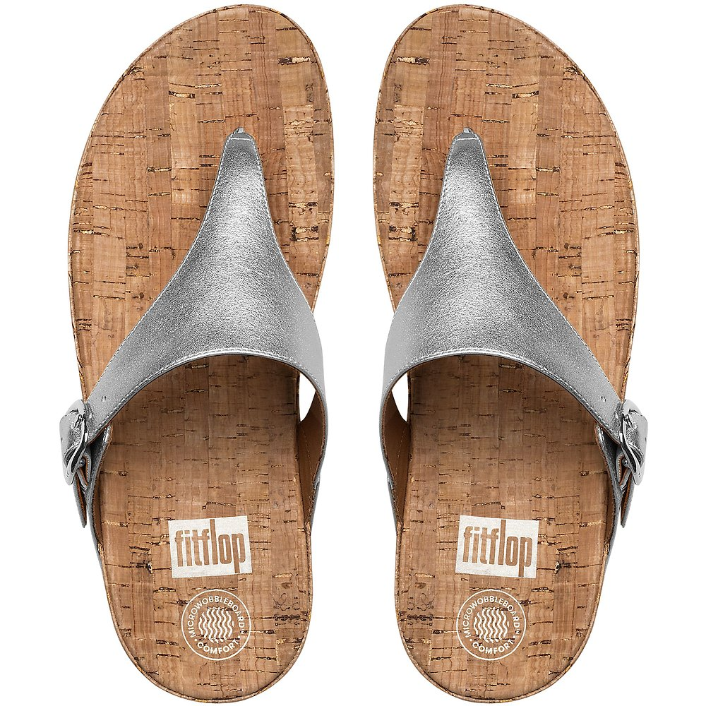 Image of FitFlop Australia METALLIC SILVER THE SKINNY™ (METALLIC) SILVER