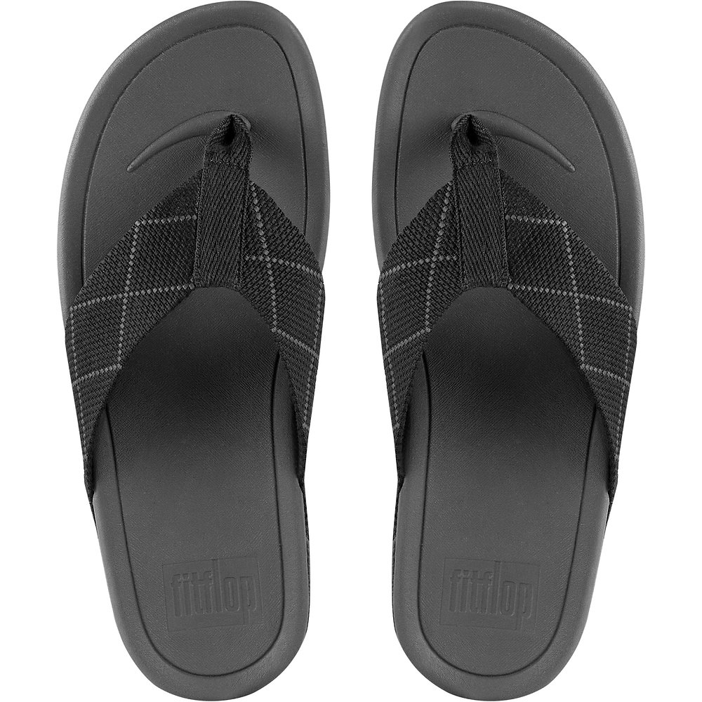 451a3a29090729 Image of FitFlop Australia BLACK DARK SHADOW MEN S SURFER DYNO BLACK DARK  SHADOW