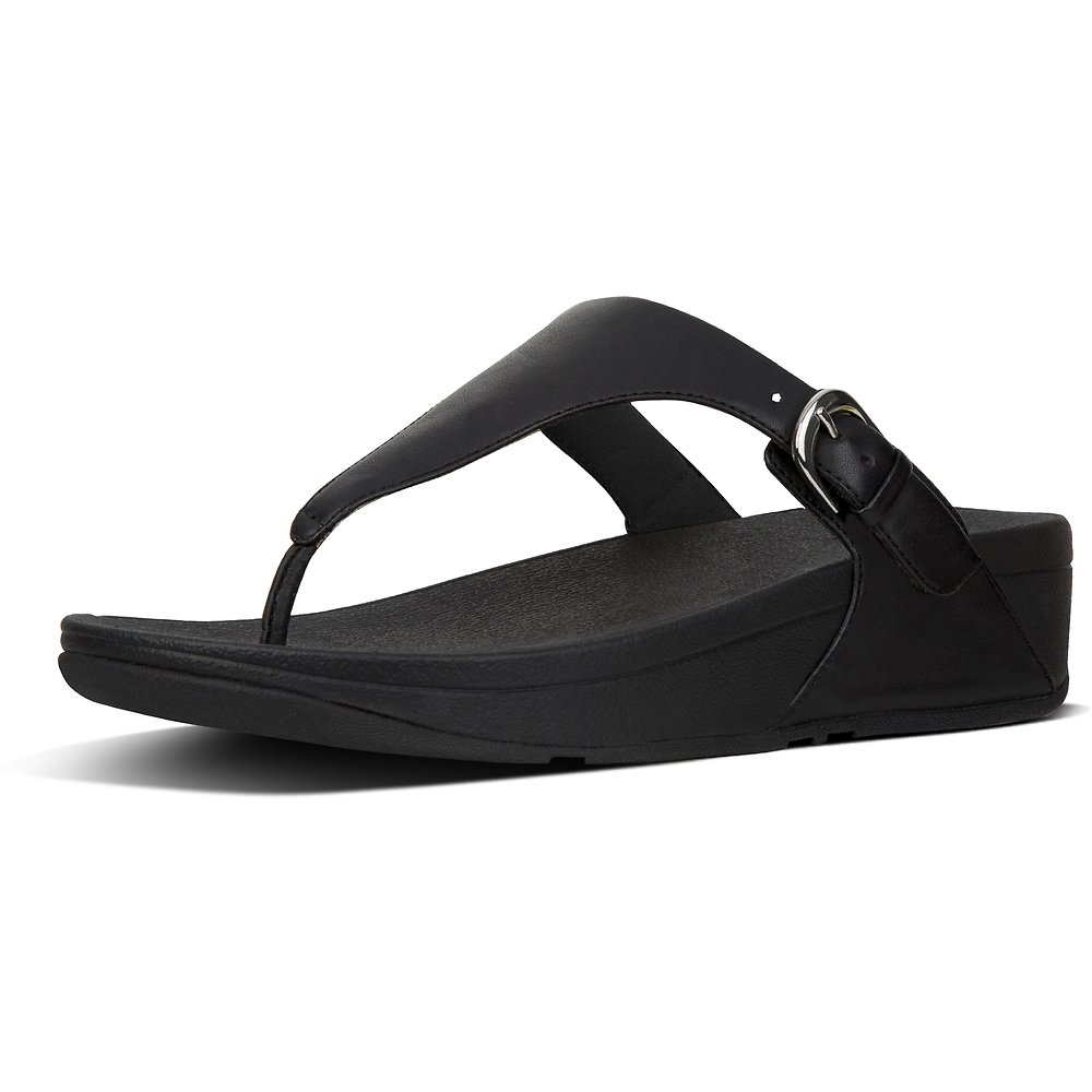 de9e6f8c0b143a Image of FitFlop Australia BLACK SKINNY™ TOE-THONG SANDALS BLACK