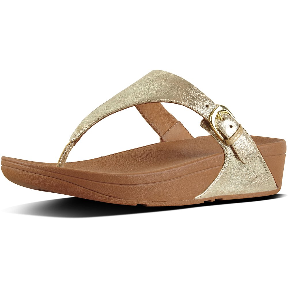 88d6e9ee0 Image of FitFlop Australia PALE GOLD SKINNY™ TOE-THONG SANDALS PALE GOLD