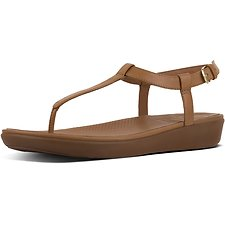 Picture of TIA™ TOE THONG SANDALS LEATHER CARAMEL