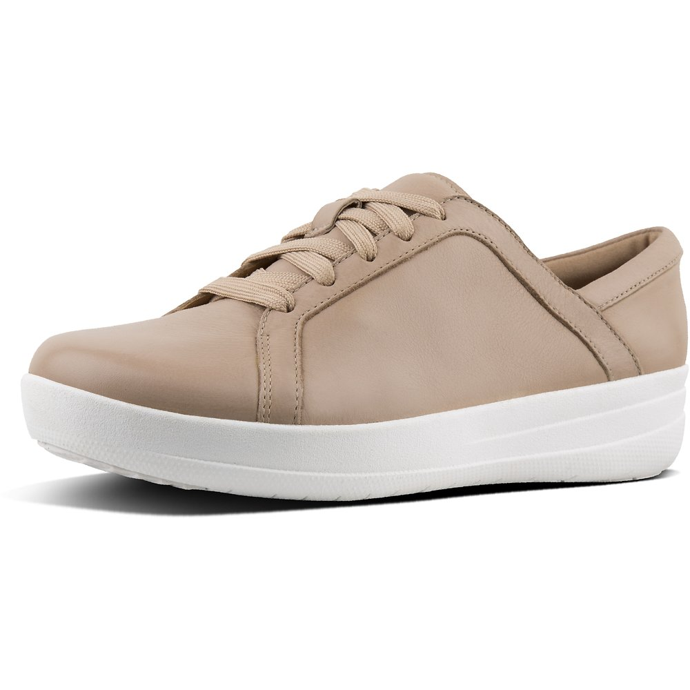 Image of FitFlop Australia NUDE F-SPORTY™ II LU SNEAKERS LEATHER NUDE