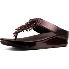 Image of FitFlop Australia BERRY RUMBA™ TOE POST BERRY