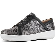 Image of FitFlop Australia BLACK EXOTIC F-SPORTY II SNEAKER BLACK