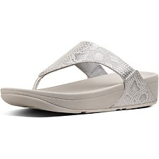 Image of FitFlop Australia URBAN WHITE EXOTIC LULU™ TOE POST URBAN WHITE