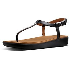 Picture of PEARL STUD TIA SANDAL BLACK