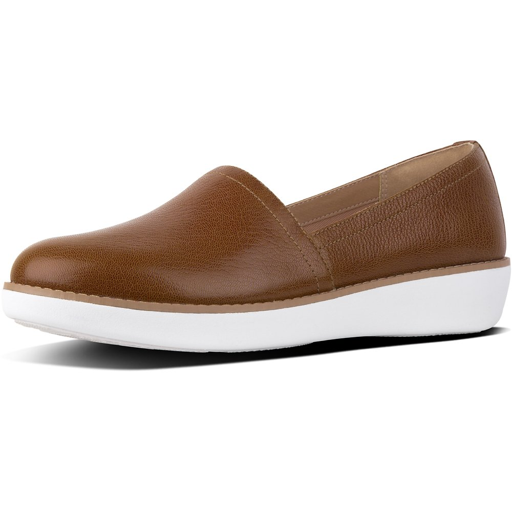 Image of FitFlop Australia TUMBLED TAN CASA™ ESPADRILLE WITH WELT TUMBLED TAN