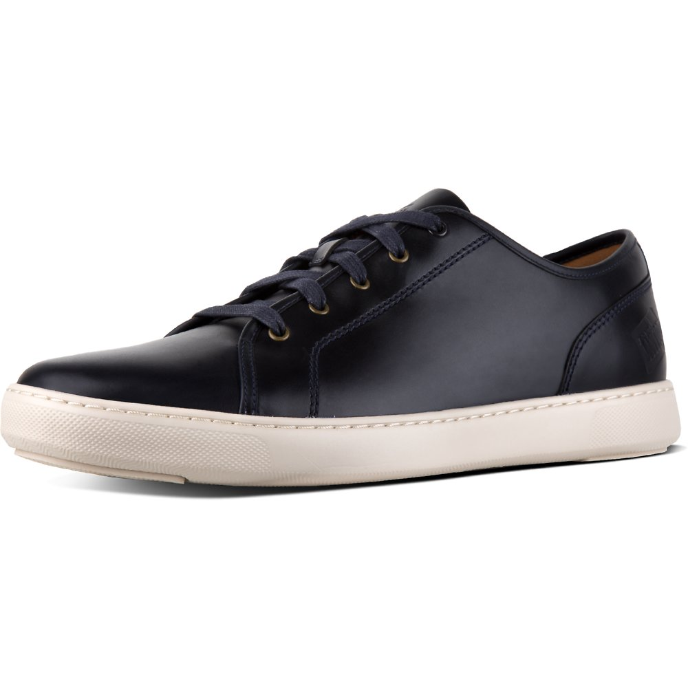 Image of FitFlop Australia SUPERNAVY MEN'S CHRISTOPHE™ SNEAKER PREMIUM LEATHER SUPERNAVY