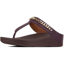 Picture of CHAIN FINO™ TOE POST DEEP PLUM