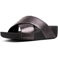 Picture of LULU SLIDE NEW GLITZ PEWTER