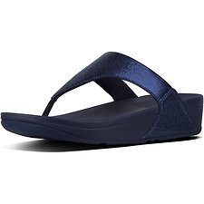 Image of FitFlop Australia METEOR BLUE LULU™ TOE POST NEW GLITZ METEOR BLUE