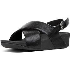 Image of FitFlop Australia BLACK LULU™ SANDAL NEW GLITZ BLACK