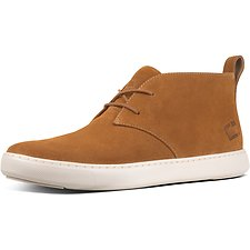 Image of FitFlop Australia LIGHT TAN MEN'S ZACKERY™ SUEDE DESERT BOOTS LIGHT TAN