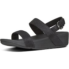 Image of FitFlop Australia BLACK LOTTIE™ GLITZY SANDAL BLACK