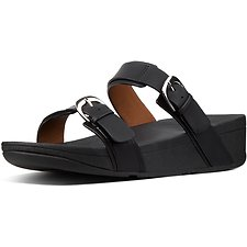 Image of FitFlop Australia BLACK EDIT™ SLIDE BLACK