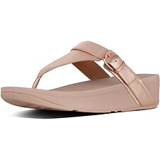 Image of FitFlop Australia ROSE GOLD EDIT™ TOE THONGS ROSE GOLD