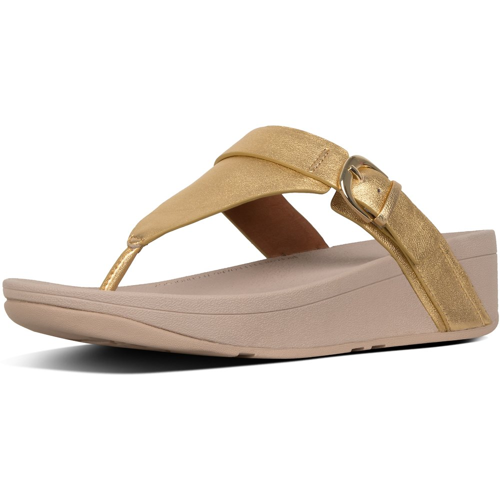 Image of FitFlop Australia ARTISAN GOLD EDIT™ TOE-THONG ARTISAN GOLD