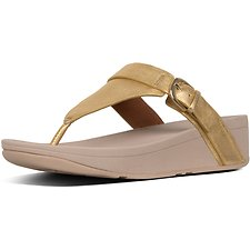 Image of FitFlop Australia ARTISAN GOLD EDIT™ TOE-THONGS ARTISAN GOLD