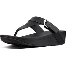Image of FitFlop Australia BLACK EDIT™ TOE-THONG BLACK