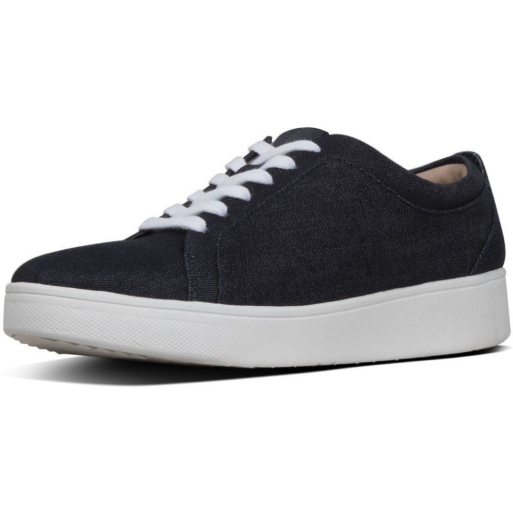Image of FitFlop Australia DENIM RALLY™ DENIM SNEAKERS DENIM