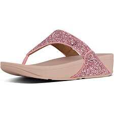 Image of FitFlop Australia ROSE LULU™ GLITTER TOE-THONGS ROSE