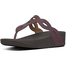 Image of FitFlop Australia LINGONBERRY EVA INTERLACE™ TOE-THONGS LINGONBERRY